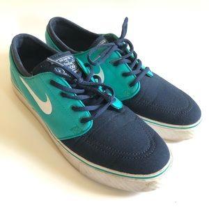 Nike Stefan Janowski sneakers/turbo green& navy/11